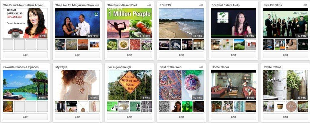 Phoebe Chongchua's Pinterest boards