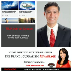 Ian Dyason on The Brand Journalism Advantage Podcast