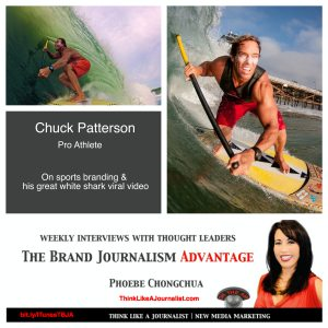 Chuck Patterson on The Brand Journalism Advantage Podcast