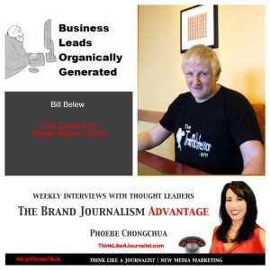 Bill Belew on The Brand Journalism Advantage Podcast