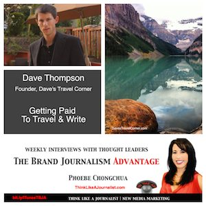 Dave Thompson on The Brand Journalism Advantage Podcast