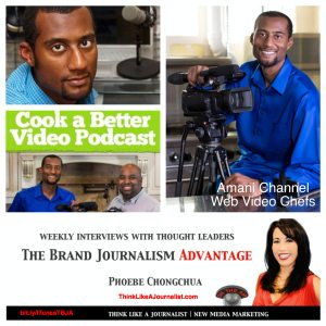 Amani Channel on The Brand Journalism Advantage Podcast