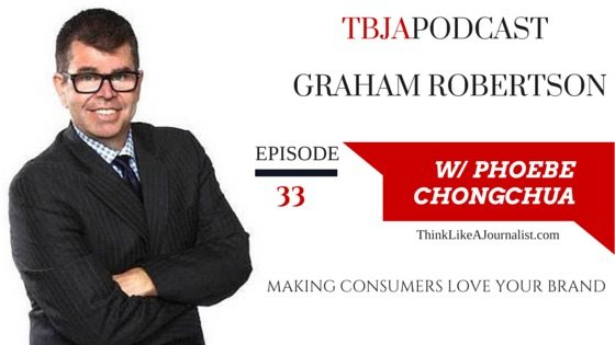 Making Consumers Love Your Brand, Graham Roberton, TBJApodcast 33
