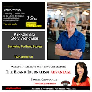 Kirk Cheyfitz on The Brand Journalism Advantage Podcast