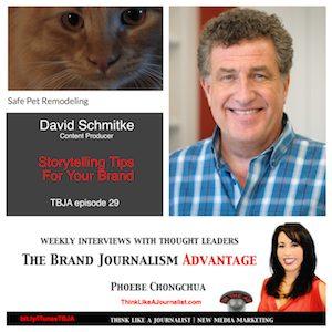 David Schmitke on The Brand Journalism Advantage Podcast