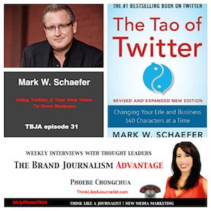 Mark W. Schaefer on The Brand Journalism Advantage Podcast