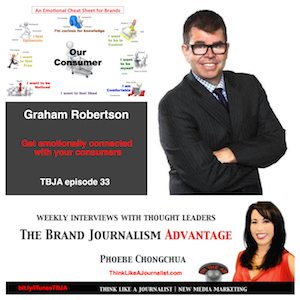 Graham Robertson on The Brand Journalism Advantage Podcast