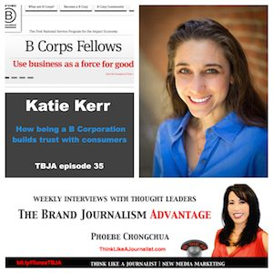 Katie Kerr on The Brand Journalism Advantage Podcast