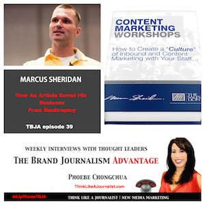 Marcus Sheridan on The Brand Journalism Advantage Podcast