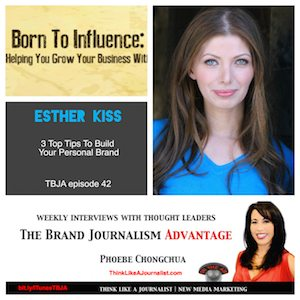 Esther Kiss on The Brand Journalism Advantage Podcast