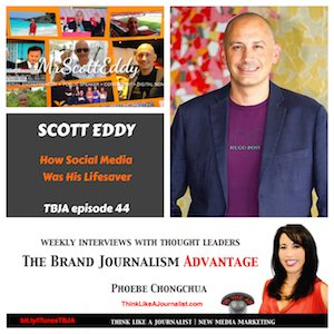 Mr Scott Eddy on The Brand Journalism Advantage Podcast