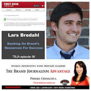 Lars Bredahl on The Brand Journalism Advantage Podcast