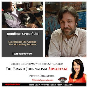 Jonathan Crossfield on The Brand Journalism Advantage Podcast