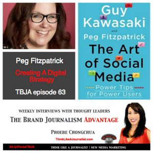Peg Fitzpatrick on The Brand Journalism Advantage Podcast