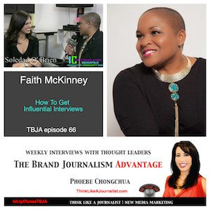 Faith McKinney on The Brand Journalism Advantage Podcast