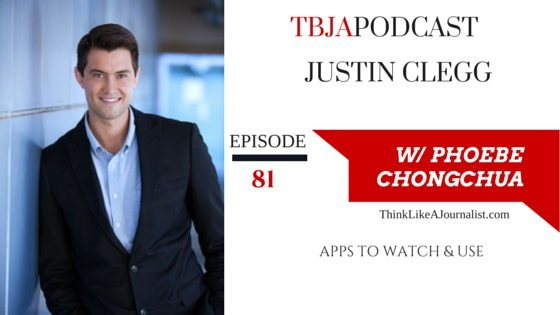 Apps To Watch & Use, Justin Clegg, TBJApodcast 81