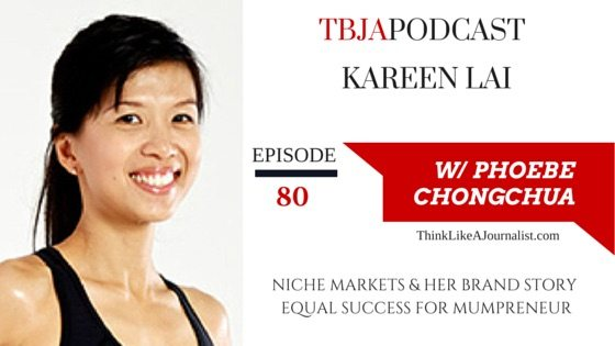 Find A Niche Market For Success, Kareen Lai, TBJApocast 80