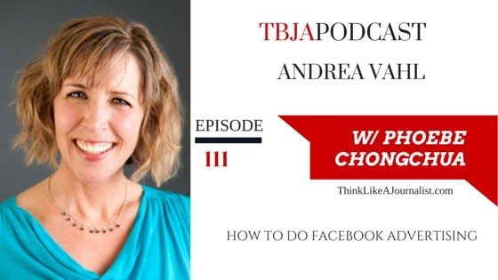 How To Do Facebook Advertising, Andrea Vahl, TBJApodcast 111