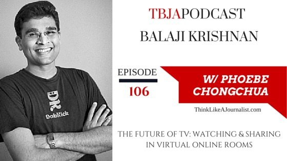 The Future of TV, Balaji Krishnan