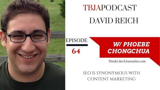 SEO Synonymous With Content Marketing,David Reich, TBJApodcast 64
