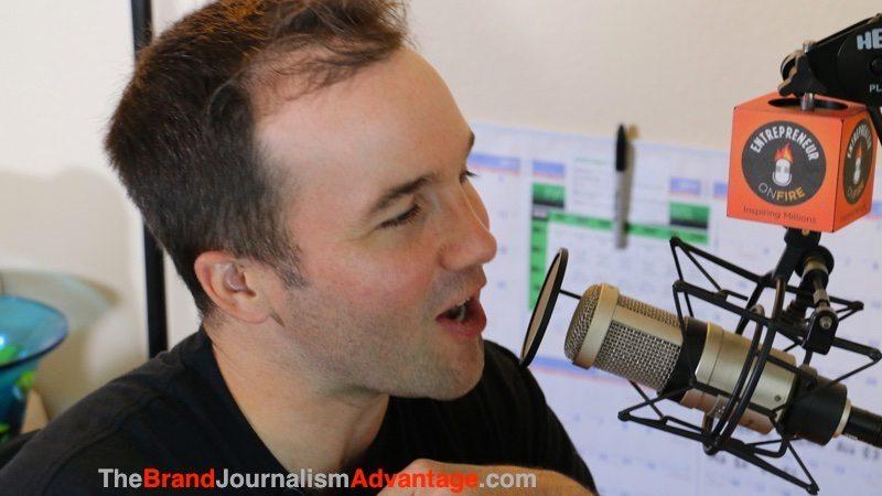 John Lee Dumas, Entrepreneur On Fire Interview on ThinkLikeAJournalist.com