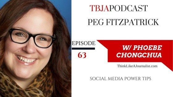 Social Media Powert Tips, Peg Fitzpatrick, TBJApodcast 63