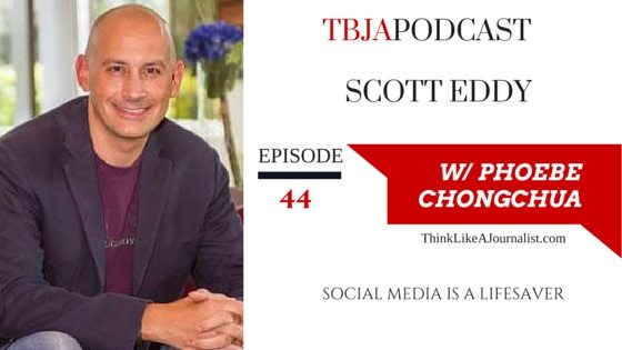 Social Media Is A Lifesaver, Scott Eddy, TBJApodcast 44