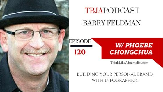 Building Your Personal Brand with Infographics, Barry Feldman, TBJApodcast 120