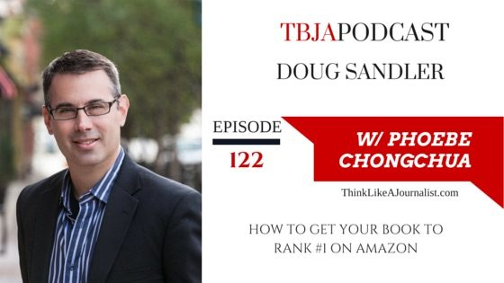 How To Get Your Book To Rank #1 on Amazon, Doug Sandler, TBJApodcast 122