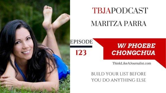 How To Build Your Email List, Maritza Parra, TBJA 123