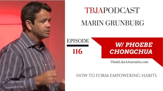 How to Form Good Habits, Martin Grunburg, TBJApodcast 116
