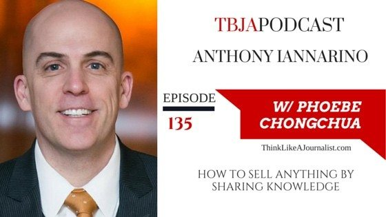 How To Sell Anything By Sharing Knowledge, Anthony Iannarino, TBJApodcast 135