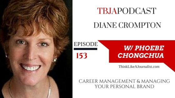 Manage Your Career & Personal Brand Online, Diane Crompton, TBApodcast 153