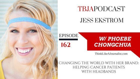 Changing The World With Her Brand, Jess Ekstrom, TBJApodcast 162