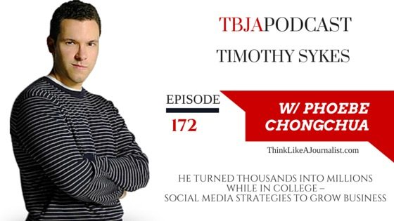 He Turned Thousands Into Millions, Timothy Sykes, TBJApodcast 172