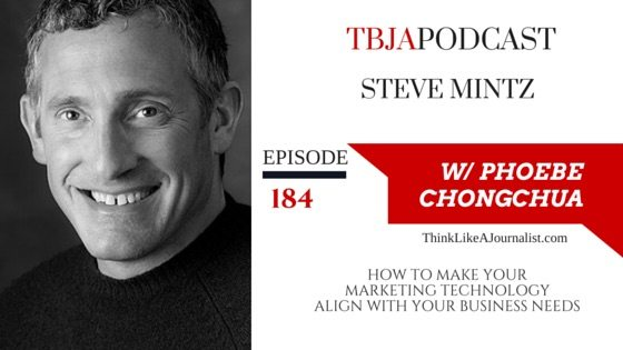 How To Make Your Marketing Technology Aligns With Your Business Needs, Steve Mintz, TBJApodcast 184