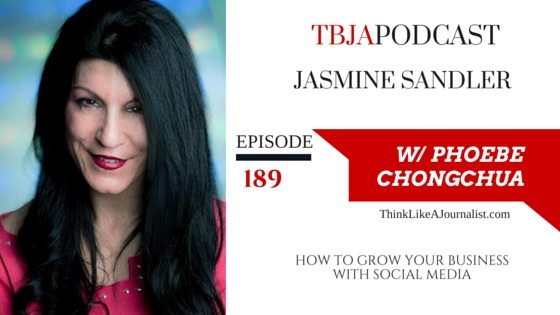 How To Grow Your Business With Social Media, Jasmine Sandler, TBJApodcast 189
