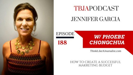 How To Create A Successful Marketing Budget, Jennifer Garcia, TBJApodcast 188