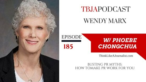 Busting PR Myths, Wendy Marx, TBJAapodcast 185