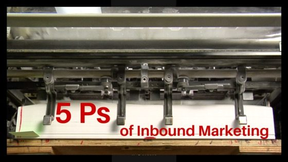 5 Ps of Creating An InboundMarketing Strategy