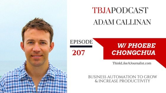 Business automation to grow your business, Adam Callinan, TBJApodcast 207