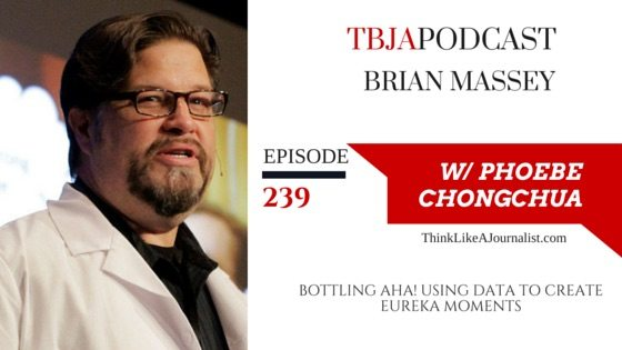 Using Data To Create Eureka Moments, Brian Massey, TBJApodcast 239