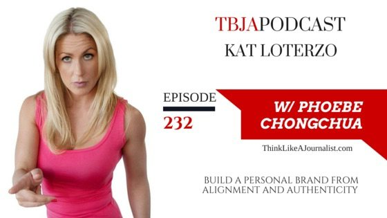 Build A Personal Brand Kat Loterzo, TBJApodcast 232