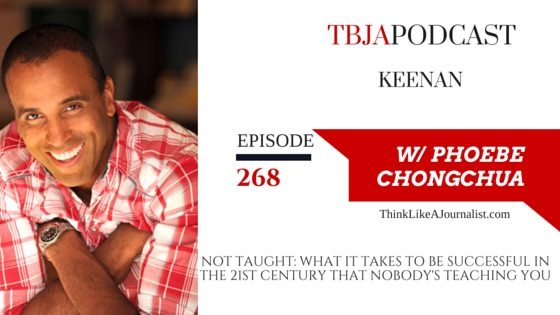 Not Taught: What It Takes to be Successful In The 21st Century That Nobody's Teaching You, Keenan, TBJApodcast 268