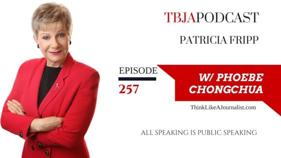 All Speaking Is Public Speaking, Patricia Fripp, TBJApodcast 257