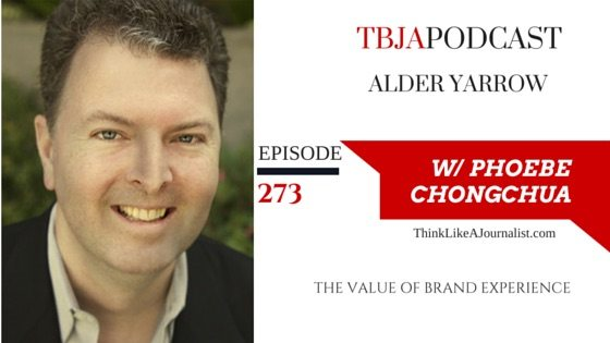 The Value Of Brand Experience, Alder Yarrow, TBJApodcast 273