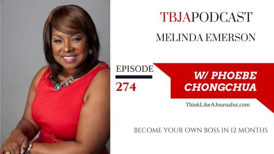 Become Your Own Boss In 12 Months, Melinda Emerson, TBJApodcast 274
