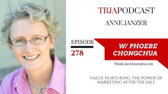Value Nurturing: The Power of Marketing After the Sale, Anne Janzer, TBJApodcast 278