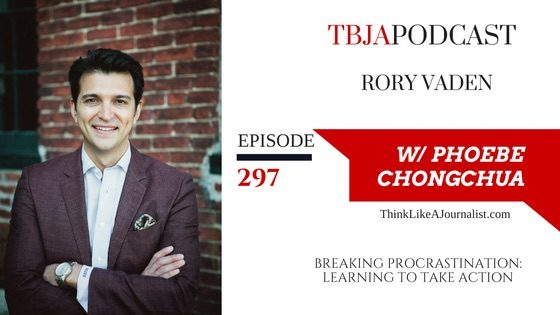 Breaking Procrastination: Learning To Take Action, Rory Vaden, TBJApodcast 297