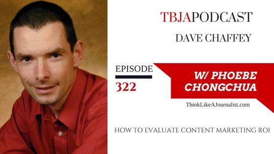 How To Evaluate Content Marketing ROI, Dave Chaffey, TBJApodcast 322